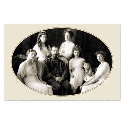 Last Emperor Nicholas II with his family Russian Romanov Royalty Postcard