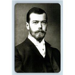 RUSSIAN Emperor Nicholas II in Portrait Official Photo Romanov Royalty Postcard