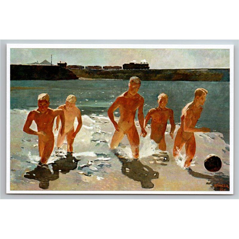 Beach russian nude Randy couple