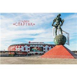 "FIFA Stadium ""SPARTAK"" World CUP Russia 2018 New MODERN postcard"