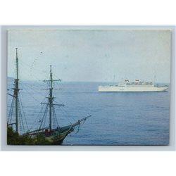1975 ARMOURED CRUISER Admiral Nakhimov Russo-Japanese War Soviet USSR Postcard