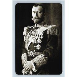RUSSIAN Emperor Nicholas II in Uniform Awards Photo Romanov Royalty Postcard