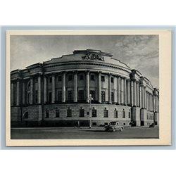 Leningrad Russia DECEMBRISTS SQUARE SENATE Building Old View Vintage Postcard