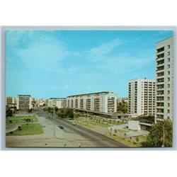 Kuybishev Russia Molodogvardeyskaya Street View Buildings Old Vintage Postcard