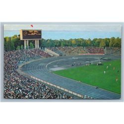 ODESSA Ukraine Central Stadium Photo Soviet Vintage Postcard