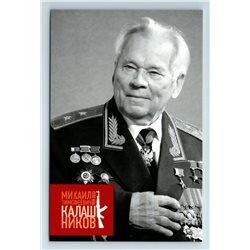 MIKHAIL KALASHNIKOV Small Arms Designer AK-74 AWARDS Russian Unposted Postcard